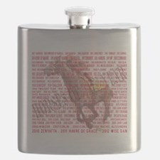 Horses of the Year 1887-2012 Flask