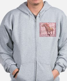 Horses of the Year 1887-2012 Zip Hoodie