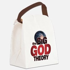 The BiG God Theory Canvas Lunch Bag