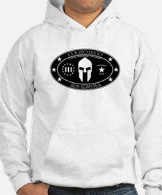 I Think, Therefore I Am Armed Hoodie
