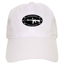 I Think, Therefore I Am Armed Baseball Baseball Cap