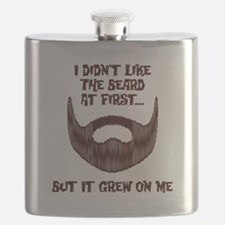 The Beard Grew On Me Flask