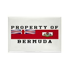 Property Of Bermuda Rectangle Magnet