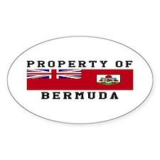Property Of Bermuda Decal