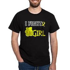 Fight Like A Girl Endometriosis T-Shirt