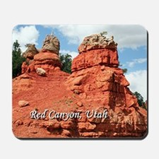Red Canyon, Utah, USA (caption) Mousepad