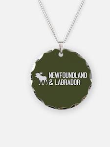 Newfoundland and Labrador Mo Necklace