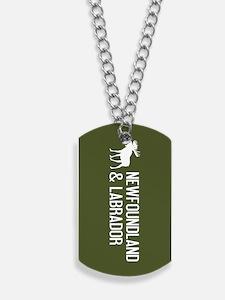 Newfoundland and Labrador Moose Dog Tags