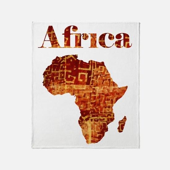Ethnic Africa Throw Blanket