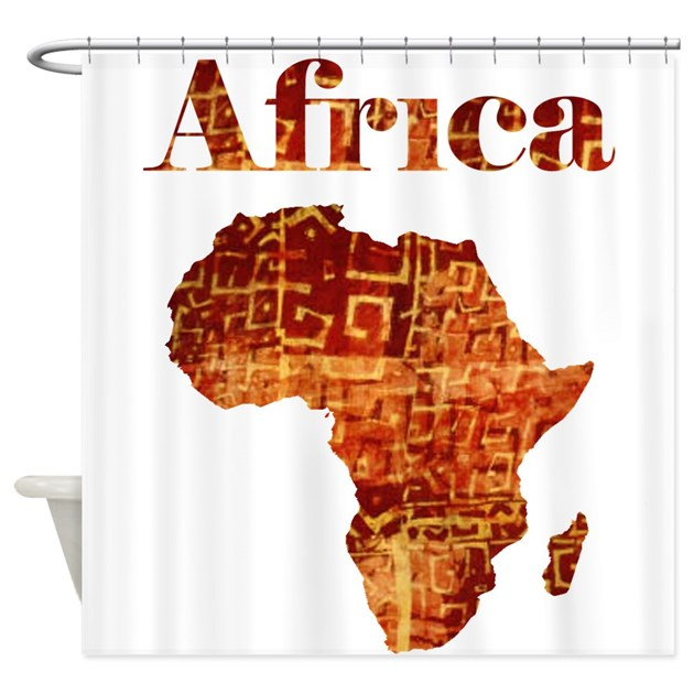 Kitchen Curtain Ideas South Africa: Ethnic Africa Shower Curtain By Culturegraphics