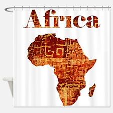 Ethnic Africa Shower Curtain