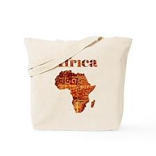 Ethnic Africa Tote Bag