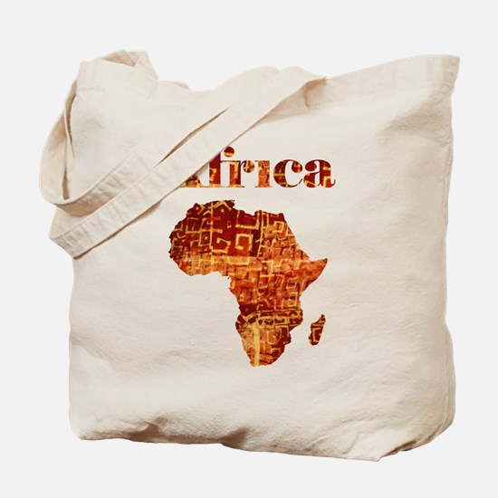 Ethnic Africa Tote Bag