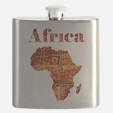 Ethnic Africa Flask