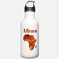Ethnic Africa Water Bottle