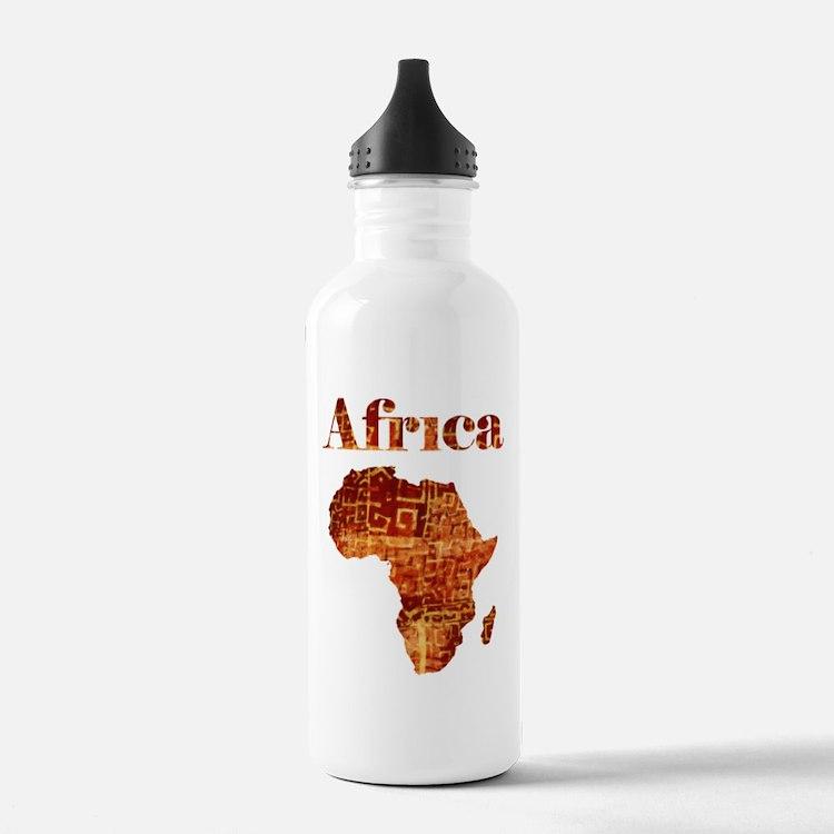 Ethnic Africa Water Bottle