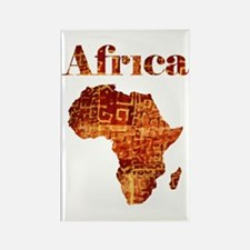 Ethnic Africa Rectangle Magnet (100 pack)