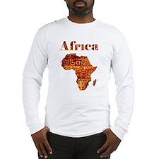 Ethnic Africa Long Sleeve T-Shirt