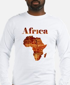 Ethnic Africa Long Sleeve T-Shirt