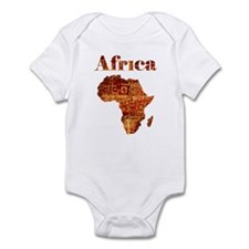 Ethnic Africa Infant Bodysuit