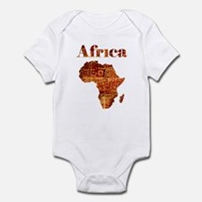 Ethnic Africa Infant Bodysuit