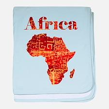 Ethnic Africa baby blanket