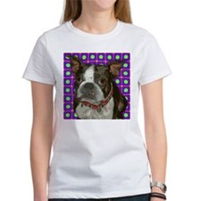Pop Art Boston Terrier Tee