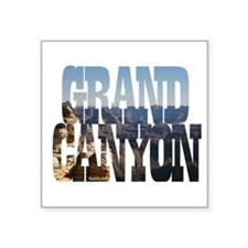 Grand Canyon Rectangle Sticker