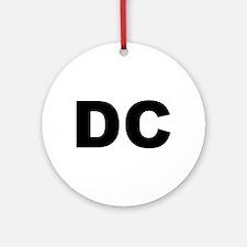 DC Ornament (Round)