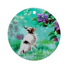 "Papillon ""Butterfly Garden 2"" Ornament (Round)"