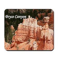 Bryce Canyon, Utah 3 (caption) Mousepad