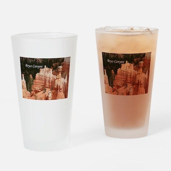Bryce Canyon, Utah 3 (caption) Drinking Glass