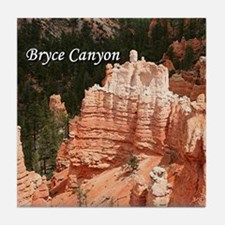 Bryce Canyon, Utah 3 (caption) Tile Coaster