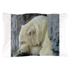 Central Park Zoo Polar Bear Pillow Case