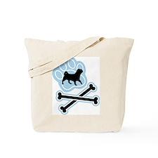 American Lo Sze Pug Tote Bag