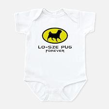 American Lo Sze Pug Infant Bodysuit