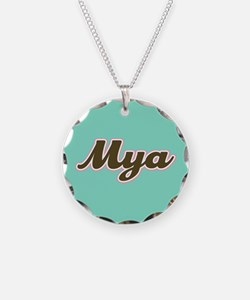 Mya Aqua Necklace