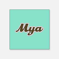 Mya Aqua Sticker