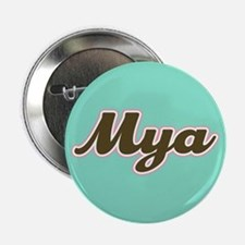"Mya Aqua 2.25"" Button"
