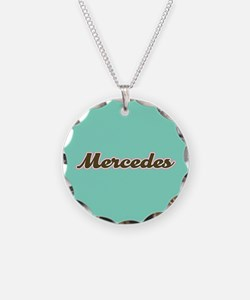 Mercedes Aqua Necklace