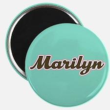 Marilyn Aqua Magnet