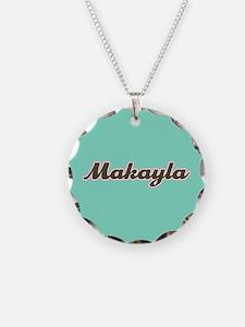 Makayla Aqua Necklace