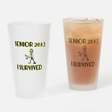 Senior 2013 Drinking Glass