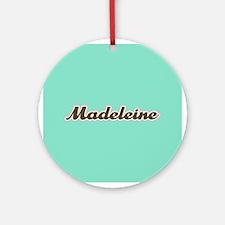 Madeleine Aqua Ornament (Round)