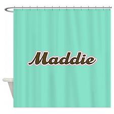 Maddie Aqua Shower Curtain