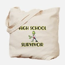 High School Survivor-Zombie-yellow Tote Bag