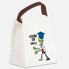 Class of 2013-Zombie with Hat Canvas Lunch Bag