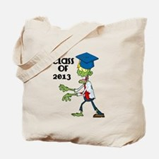 Class of 2013-Zombie with Hat Tote Bag