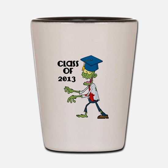 Class of 2013-Zombie with Hat Shot Glass