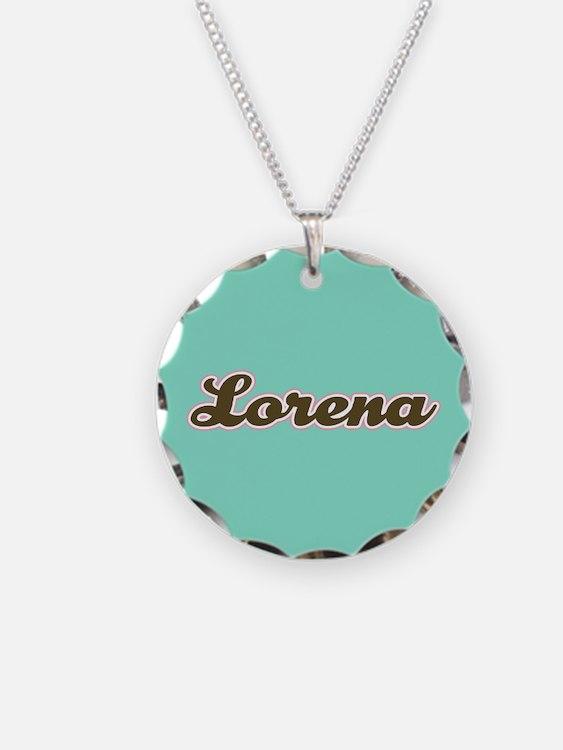 Lorena Aqua Necklace